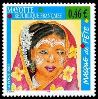 MAYOTTE 2003 - Yv. 142 **   Cote= 2,00 EUR - Masque De Fête  ..Réf.AFA22635 - Neufs