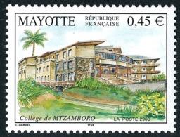 MAYOTTE 2003 - Yv. 146 **   Cote= 2,00 EUR - Collège De Mtzamboro  ..Réf.AFA22641 - Mayote (1892-2011)