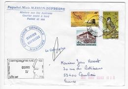 T.A.A.F Enveloppe Marion Dufresne CMA CGTM Osiris - Cartas
