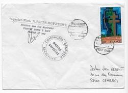 T.A.A.F Enveloppe Marion Dufresne - Terres Australes Et Antarctiques Françaises (TAAF)