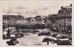 CARTE ANCIENNE,23,CREUSE,GUERET,GRAND HOTEL CENTRAL,BUS - Guéret