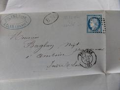 Lot Du 04.05.17_ LAC De Poitiers(84) ,rare BM De  Leches (gare De Leches),Cachet Gare De Montbelliard Voir Verso! - Postmark Collection (Covers)