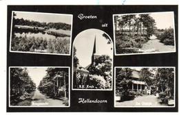 POSTAL     HELLENDOORN  - HOLANDA  - VISTAS VARIAS (VUES PLUSIEURS -SEVERAL VIEWS ) - Hellendoorn