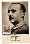 Tarjeta Postal  Con Matasellos De Barcelona. Franco. - Emissioni Nazionaliste