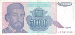 YUGOSLAVIA 5000000 DINARA 1993 P-132 XF  [ YU132au ] - Yugoslavia