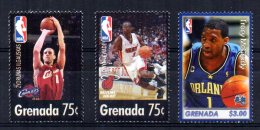 Grenada - 2005 - United States NBA Players (2nd Issue) - MNH - Grenade (1974-...)