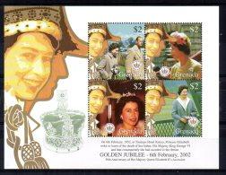 Grenada - 2002 - Queen Elizabeth II's Golden Jubilee - MNH - Grenade (1974-...)