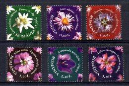 Romania - 2009 - Flowers - MNH
