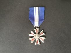 """Medaglia Repubblica Francese """"MERITE DU SANG"""" -ME96 - Altri"""