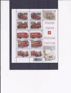 Belgie - Belgique 3923/27 Velletje Van 10 Postfris - Feuillet De 10 Timbres Neufs  -  De Post In Beweging - Feuilles Complètes