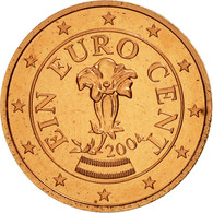Autriche, Euro Cent, 2004, SPL, Copper Plated Steel, KM:3082 - Autriche