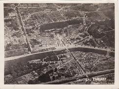 Photo Aérienne 14-18 CHATEAU-THIERRY - Une Vue (A170, Ww1, Wk 1) - Chateau Thierry