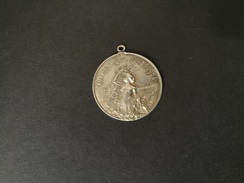 Medaglia Argento - Convegno Ciclistico Cuneo 1904 -ME97 - Italia