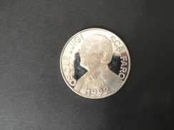 Medaglia Argento 925 - Presidente Scalfaro 1992 -ME99 - Italia
