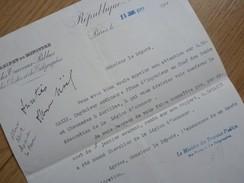 Jean DUPUY (1844-1919) Directeur PETIT JOURNAL ; Ministre PTT, AGRICULTURE, COMMERCE, ... Autographe - Autographs