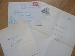 Jean D'AGRAIVES (1892-1951) Ecrivain Romancier JEUNESSE. Radio Paris. AUTOGRAPHE - Autographes
