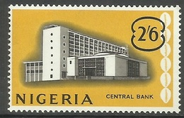 Nigeria - 1961 Central Bank 2/6d  MLH *     Sc 110 - Nigeria (1961-...)