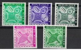Niger 1962, Postage Due - Porto - Segnatasse - Taxe - Cross - Kreuz **, MNH, Blocks Of 4 - Niger (1960-...)