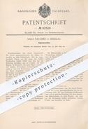 Original Patent - Salo Taucher , Breslau , 1894 , Kopiermaschine | Kopieren , Kopierer , Papier , Walze , Druck !!! - Historische Dokumente