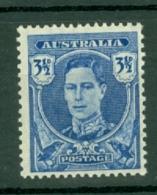 Australia: 1942/50   Pictorial    SG207   3½d  Bright Blue   MNH - Nuovi