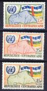 Republique Centrafricaine 1961, UNO - ONU **, MNH - Centraal-Afrikaanse Republiek