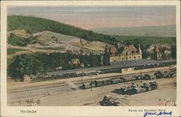 AK Herdecke, Partie Am Bahnhof Nord, Um 1923 (23460) - Germany