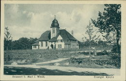 AK Marl-Brassert, Evangel. Kirche, Um 1923 (23464) - Marl