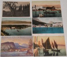 R.159.  Lago Di Garda: Lazise, Riva, Desenzano, Maderno, Gardone... - Lotto Di 18 Cartoline - Cartes Postales