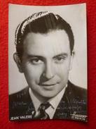 AUTOGRAPHE JEAN VALERE PHOTO HARCOURT  CACHET VESSIER NIMES 1945 - Autographs