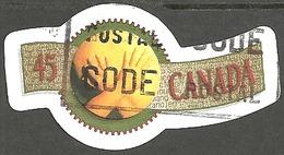Sc. # 1569 Greetings Booklet #2, Provinces Single Used 1995 K181