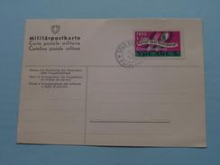 Militärpostkarte 1940 - 1 Jahr KAMPF Dem KOHLDAMPF Grenzbesetzung VPF. ABT. 3. - Feldpost ( Zie Foto's ) !! - Militaria