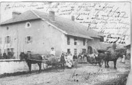 39 Sirod - Carte Photo Sans Légende. Très Animée, Petit Manque En Bas Droit Sinon Bon état.datée 1911. - Autres Communes