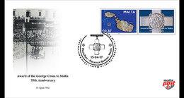 Malta / Malte - Postfris / MNH - FDC George Cross To Malta 2017 - Malta