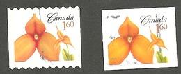 Sc. # 2247 & 56 Flower Definitive, Masdevallia Booklet And Coil Pair Used 2007 K194