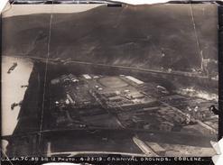 Photo Aérienne 1919 KOBLENZ - Ansicht, Camp, Luftschiff-Hangar, Zeppelin, Ballon (A170, Ww1, Wk 1) - Koblenz