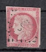 Colonies 80c Rose YT N°21 - Ceres