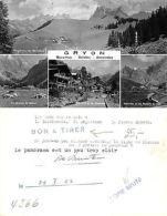 Kt. Vaud - Gryon 4 VUES Bovonnaz Solarex COPIE BRUTE APPROVEE (A-L 397) - VD Vaud
