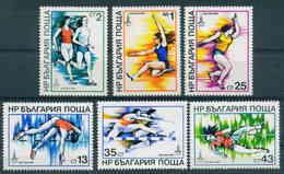 2841 Bulgaria 1979 Olympic Games Athletics  **MNH Olympische Sommerspiele, Moskau 1980 Leichtathletik Bulgarie Bulgarien - Bulgarie