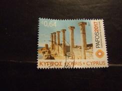 CIPRO 2017 CULTURA 64 C USATO - Cyprus (Republic)