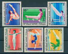 2870 Bulgaria 1979 Olympic Games Gymnastics  ** MNH /Olympische Sommerspiele, Moskau 1980 Bulgarie Bulgarien Bulgarije - Bulgarie