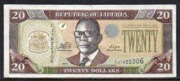 528-Liberia Billet De 20 Dollars 2011 CJ182 - Liberia