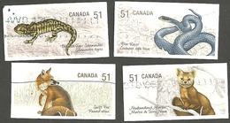 Sc. # 2174-77 Endangered Species #1 Set Used 2006 K208 - 1952-.... Règne D'Elizabeth II