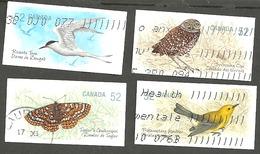 Sc. # 2286-89 Endangered Species #3 Set Used 2008 K212