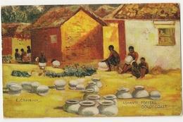 "S6186 - Ashanti Potters Gold Coast "" E Cheesmon"" - Ghana - Gold Coast"