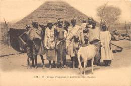 GAMBIE / Groupe D'indigènes à Yarbutenda - Beau Cliché Animé - Gambie