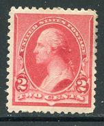 U.S.    220(*)   VLH  Washington  1890 - Nuovi
