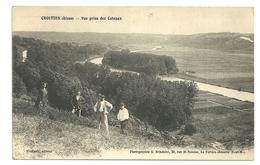 CROUTTES SUR MARNE Dpt02 Vue Prise Des Coteaux - Autres Communes