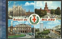 SALUTI DA MILANO Afgestempeld 1969 - Souvenir De...