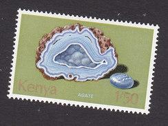 Kenya, Scott #106, Mint Hinged, Rocks, Issued 1977 - Kenya (1963-...)