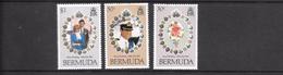 Bermuda Mi.Nr 401-403 MNH 1981 - Bermudes